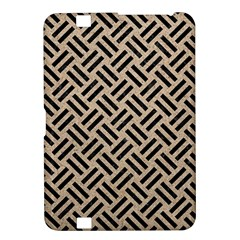 Woven2 Black Marble & Sand Kindle Fire Hd 8 9