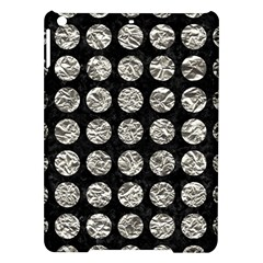 Circles1 Black Marble & Silver Foil (r) Ipad Air Hardshell Cases
