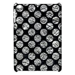 Circles2 Black Marble & Silver Foil (r) Apple Ipad Mini Hardshell Case