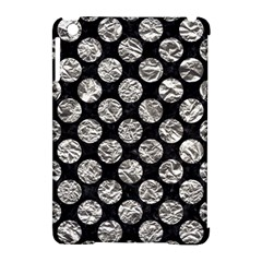 Circles2 Black Marble & Silver Foil (r) Apple Ipad Mini Hardshell Case (compatible With Smart Cover)