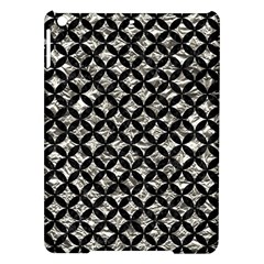 Circles3 Black Marble & Silver Foil Ipad Air Hardshell Cases