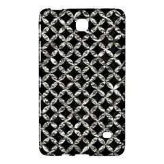 Circles3 Black Marble & Silver Foil (r) Samsung Galaxy Tab 4 (8 ) Hardshell Case