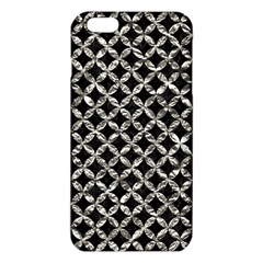 Circles3 Black Marble & Silver Foil (r) Iphone 6 Plus/6s Plus Tpu Case