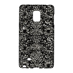 Damask2 Black Marble & Silver Foil (r) Galaxy Note Edge