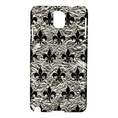 Royal1 Black Marble & Silver Foil (r) Samsung Galaxy Note 3 N9005 Hardshell Case