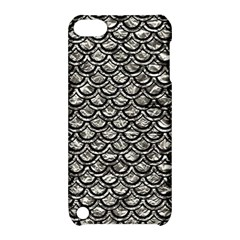 Scales2 Black Marble & Silver Foil Apple Ipod Touch 5 Hardshell Case With Stand