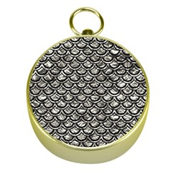 Scales2 Black Marble & Silver Foil Gold Compasses