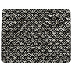 Scales2 Black Marble & Silver Foil Jigsaw Puzzle Photo Stand (rectangular)