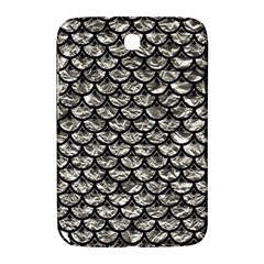 Scales3 Black Marble & Silver Foil Samsung Galaxy Note 8 0 N5100 Hardshell Case
