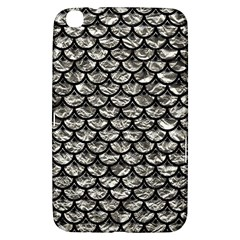 Scales3 Black Marble & Silver Foil Samsung Galaxy Tab 3 (8 ) T3100 Hardshell Case