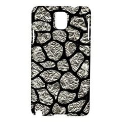Skin1 Black Marble & Silver Foil (r) Samsung Galaxy Note 3 N9005 Hardshell Case