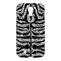 Skin2 Black Marble & Silver Foil Samsung Galaxy S4 I9500/i9505 Hardshell Case
