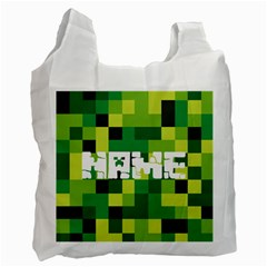 Minecraft Recycle Bag (two Side)