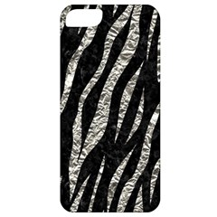 Skin3 Black Marble & Silver Foil (r) Apple Iphone 5 Classic Hardshell Case