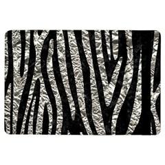 Skin4 Black Marble & Silver Foil Ipad Air Flip