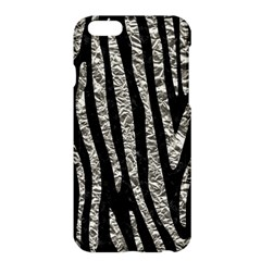 Skin4 Black Marble & Silver Foil Apple Iphone 6 Plus/6s Plus Hardshell Case