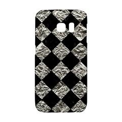 Square2 Black Marble & Silver Foil Galaxy S6 Edge