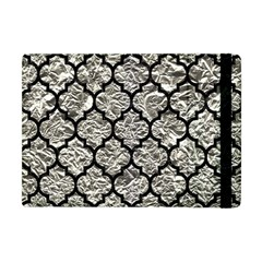 Tile1 Black Marble & Silver Foil Apple Ipad Mini Flip Case