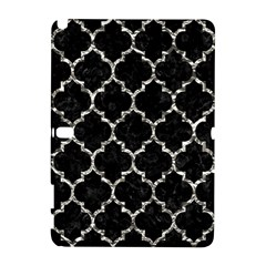 Tile1 Black Marble & Silver Foil (r) Galaxy Note 1
