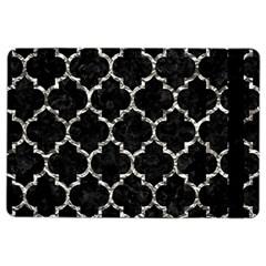 Tile1 Black Marble & Silver Foil (r) Ipad Air 2 Flip