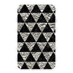 Triangle3 Black Marble & Silver Foil Memory Card Reader