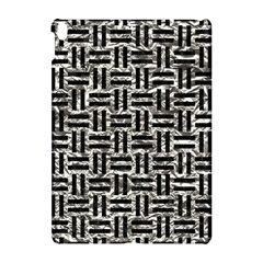 Woven1 Black Marble & Silver Foil Apple Ipad Pro 10 5   Hardshell Case