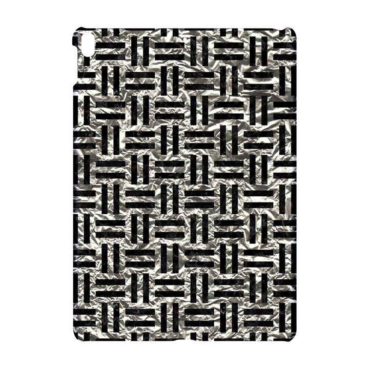 WOVEN1 BLACK MARBLE & SILVER FOIL Apple iPad Pro 10.5   Hardshell Case