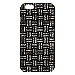 Woven1 Black Marble & Silver Foil (r) Iphone 6 Plus/6s Plus Tpu Case