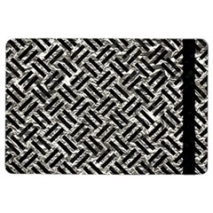 Woven2 Black Marble & Silver Foil Ipad Air 2 Flip