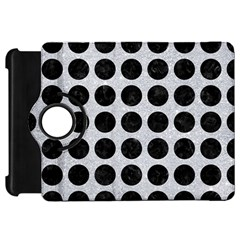 Circles1 Black Marble & Silver Glitter Kindle Fire Hd 7