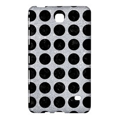 Circles1 Black Marble & Silver Glitter Samsung Galaxy Tab 4 (8 ) Hardshell Case