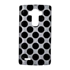 Circles2 Black Marble & Silver Glitter Lg G4 Hardshell Case