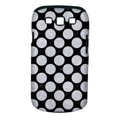 Circles2 Black Marble & Silver Glitter (r) Samsung Galaxy S Iii Classic Hardshell Case (pc+silicone)