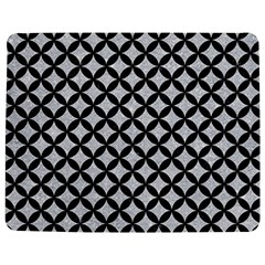 Circles3 Black Marble & Silver Glitter Jigsaw Puzzle Photo Stand (rectangular)