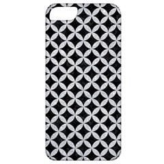 Circles3 Black Marble & Silver Glitter (r) Apple Iphone 5 Classic Hardshell Case