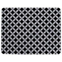 Circles3 Black Marble & Silver Glitter (r) Jigsaw Puzzle Photo Stand (rectangular)