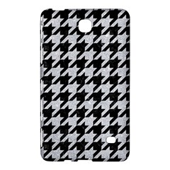 Houndstooth1 Black Marble & Silver Glitter Samsung Galaxy Tab 4 (8 ) Hardshell Case