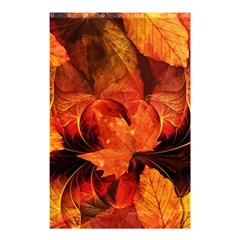 Ablaze With Beautiful Fractal Fall Colors Shower Curtain 48  X 72  (small)