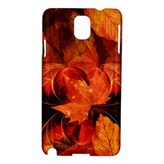 Ablaze With Beautiful Fractal Fall Colors Samsung Galaxy Note 3 N9005 Hardshell Case