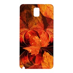 Ablaze With Beautiful Fractal Fall Colors Samsung Galaxy Note 3 N9005 Hardshell Back Case