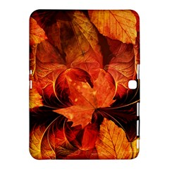 Ablaze With Beautiful Fractal Fall Colors Samsung Galaxy Tab 4 (10 1 ) Hardshell Case