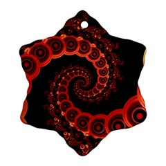 Chinese Lantern Festival For A Red Fractal Octopus Ornament (snowflake)