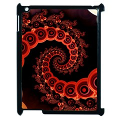 Chinese Lantern Festival For A Red Fractal Octopus Apple Ipad 2 Case (black)
