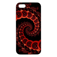 Chinese Lantern Festival For A Red Fractal Octopus Apple Iphone 5 Premium Hardshell Case