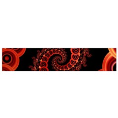 Chinese Lantern Festival For A Red Fractal Octopus Small Velour Scarf