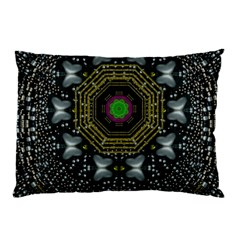 Leaf Earth And Heart Butterflies In The Universe Pillow Case (two Sides)