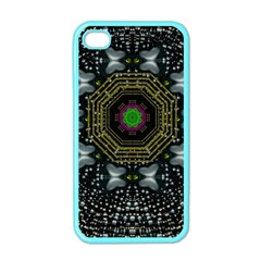 Leaf Earth And Heart Butterflies In The Universe Apple Iphone 4 Case (color)