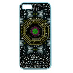 Leaf Earth And Heart Butterflies In The Universe Apple Seamless Iphone 5 Case (color)