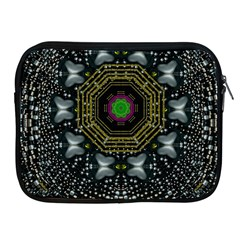 Leaf Earth And Heart Butterflies In The Universe Apple Ipad 2/3/4 Zipper Cases