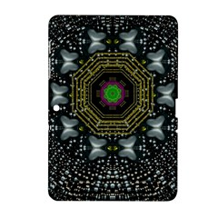 Leaf Earth And Heart Butterflies In The Universe Samsung Galaxy Tab 2 (10 1 ) P5100 Hardshell Case